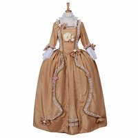 New Arrival Rococo Baroque Ball Gown Medieval Aristocrat Ball Gown Victorian Dress Costume Gothic Evening Wedding