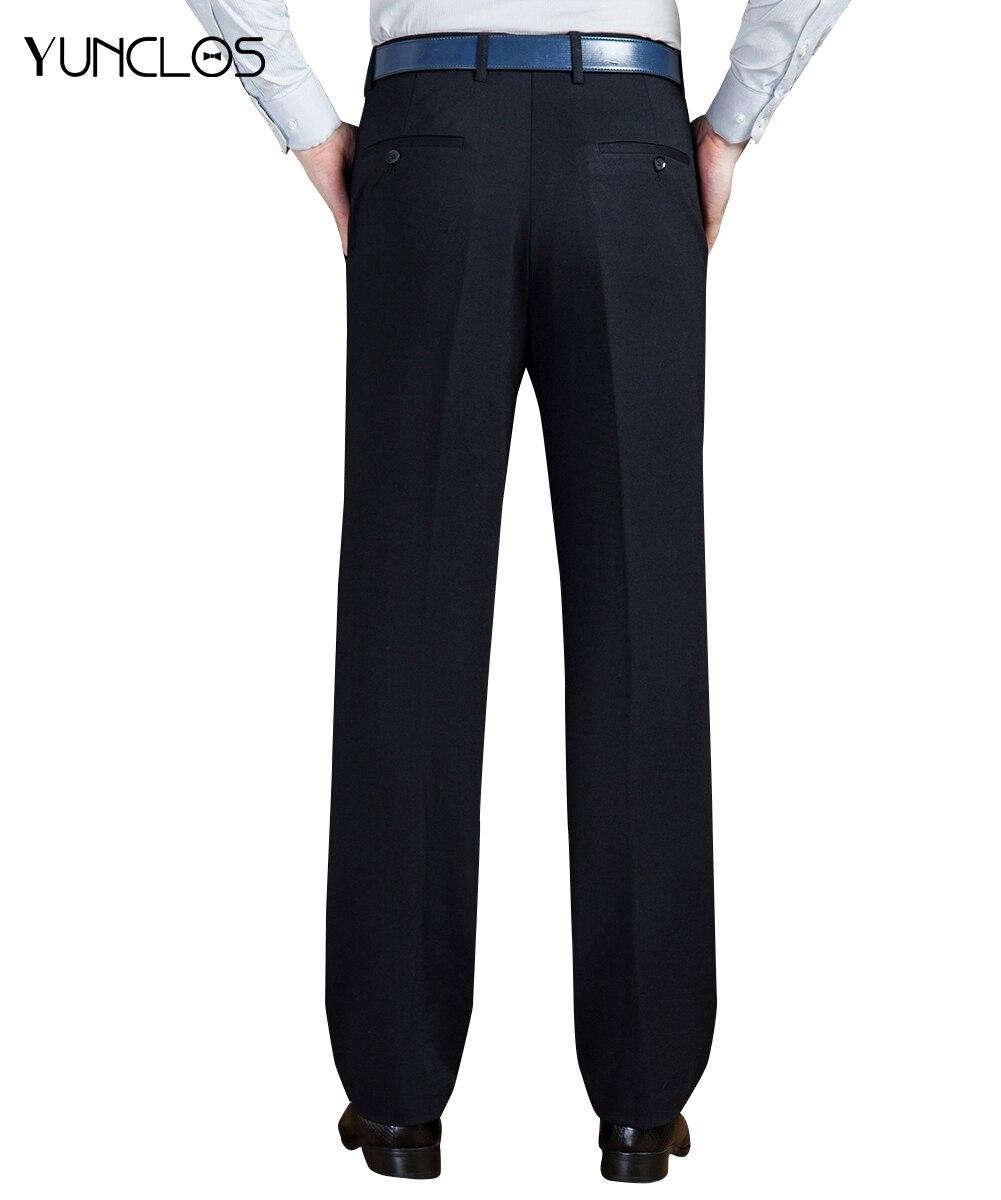 Formal Hombres Hombre Yunclos Pantalon Pantalones Azul Casual Traje Diseño  Negocios Largos Clásico De wBnFqEg b37850bf8b7