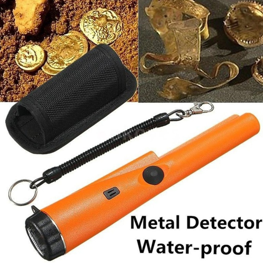 Professional Pinpointing Metal Detector GP-POINTER Hand Held Iron Gold Hunter Treasure Hunting Tool Finder With Belt Holster md 3005 upgraded sensitive pointer pinpointing hand held professional metal detector gold detector treasure hunter
