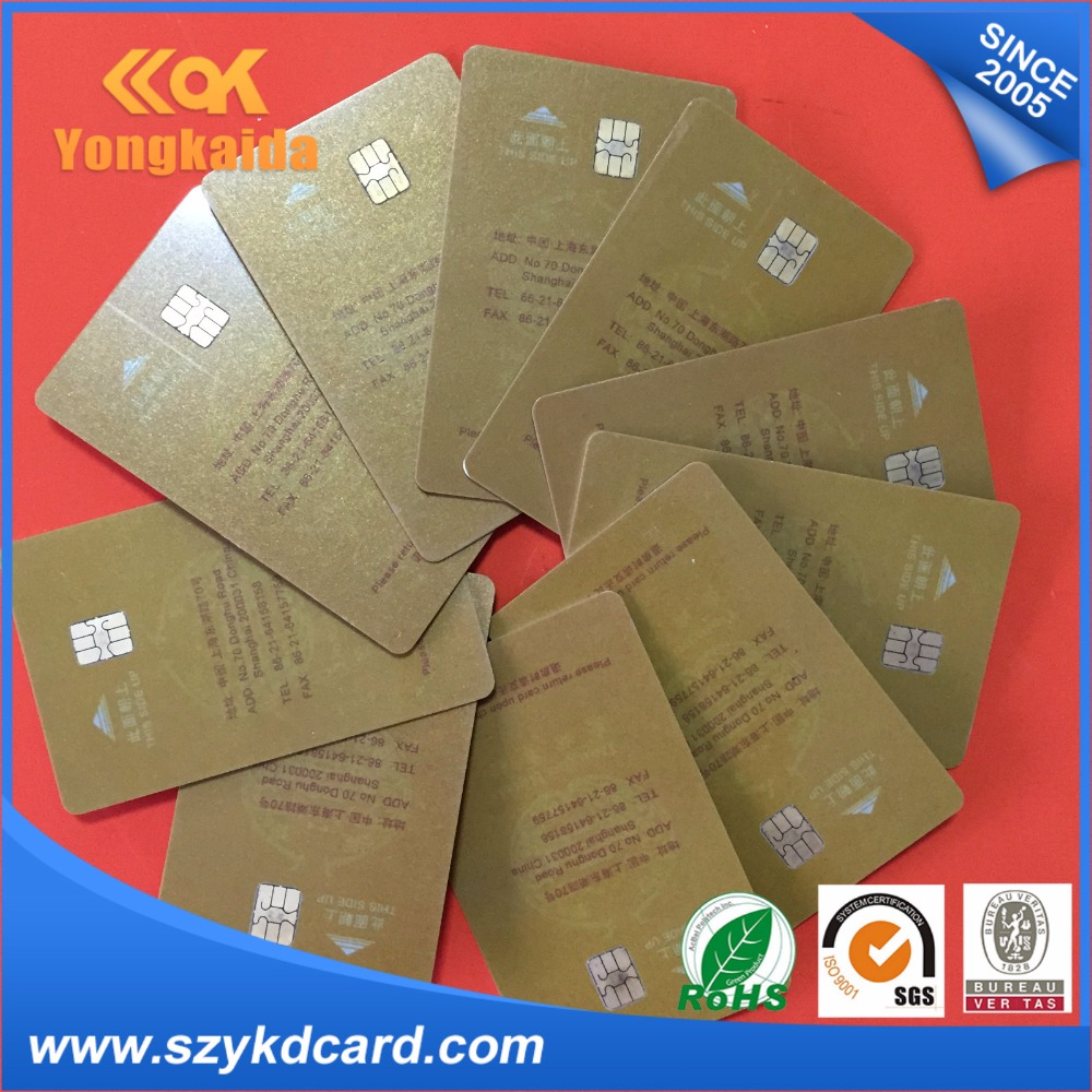 Yongkaida 1000 pcs best price fudan sle4428 pvc printed smart card compatible with sle 5528