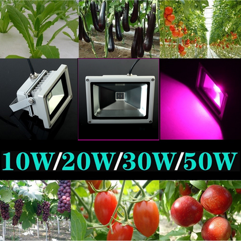 2016 Brand New outdoor led Blue 460nm Red 660nm high power 30w 50w led flood light