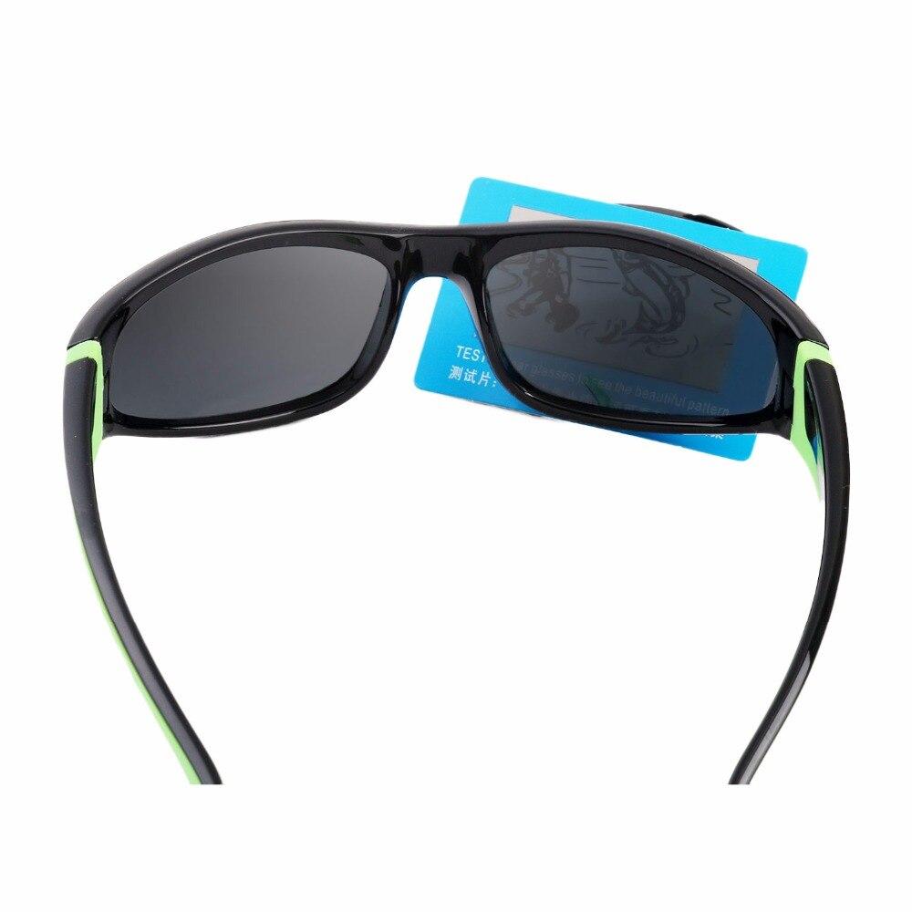 Super Cool marco negro UV400 protección lentes Polaroid gafas de sol ...