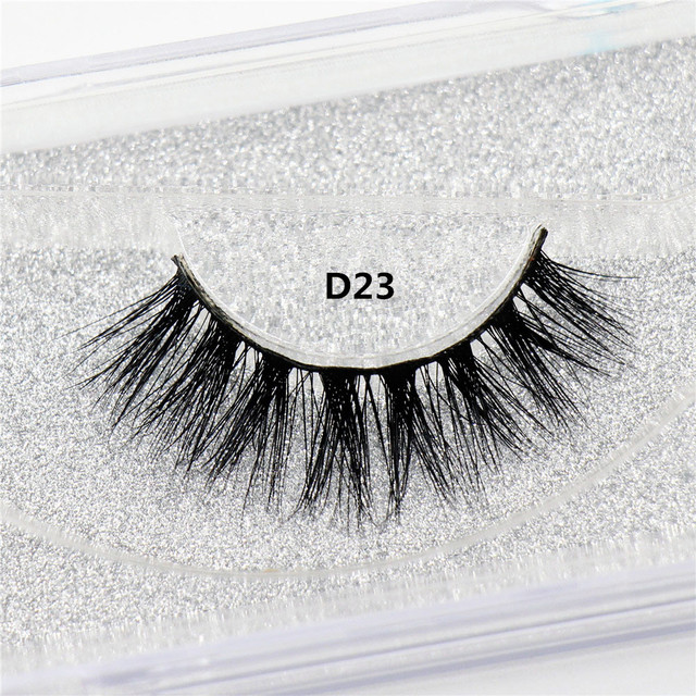 LEHUAMAO Mink Lashes 3D Mink False Eyelashes Long Lasting Lashes Natural Lightweight Mink Eyelashes Fluffy Dramatic Eye Makeup 5