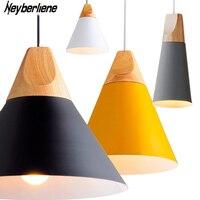 Pendant Lights Lustres Abajur Pendant Lamp Modern Hanglamp LED Bulb For Bedroom Kitchen Colorful Aluminum Lamp