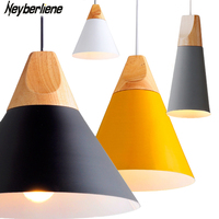 Pendant Lights Lustres Abajur Pendant Lamp Modern Hanglamp LED Bulb For Bedroom Kitchen Colorful Aluminum Lamp