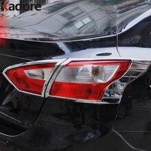 Для Ford Focus 3 2012 2013 4dr Седан Chrome задний фонарь Крышка лампы планки украшения кадр протектора автомобиля стиль