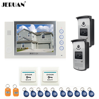 8 Inch Video Door Phone Doorbell Intercom System Home Access Control System Video Recoreding Photo Taking