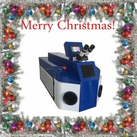 2017 New year&Christmas discount Price of jewelry welding machine Christmas laser welder