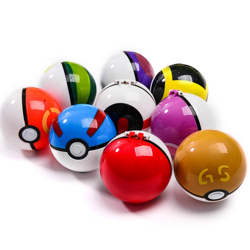 DROPSHIPPING 1Pcs Pokeball+1pcs Random Figure Inside
