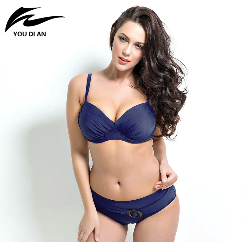 9420a2eb91 Aliexpress.com : Buy Newest push up bikinis women summer Bathing Suit Push  up biquini plus size Super Large Cup Women Swimwear Female beach wear from  ...