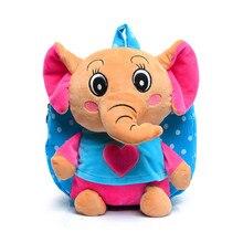 Niños Dots mochila niños pequeños juguetes del elefante de Dibujos Animados para niños bolsas escuela Niños niñas bolsa de viaje animal para el bebé