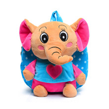 Kids Dots Cartoon backpack kids small elephant toy children s school bags Infants girls traveling animal