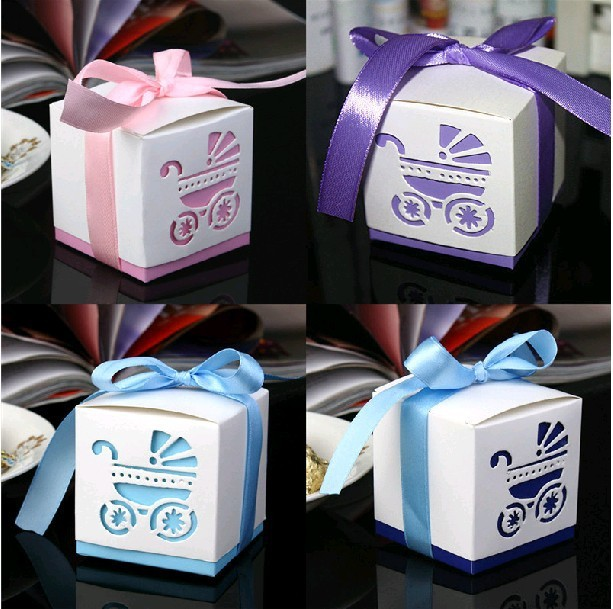 Free Shipping Damask Wedding favor paper box favour gift candy boxes pink purple Bule Dark bule 100pcs/lot
