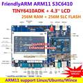 FriendlyARM S3C6410 Development Board Enhanced TINY6410 ADK1312 +4.3 inch Display ,256M RAM+256M Flash, ARM11 Support Android