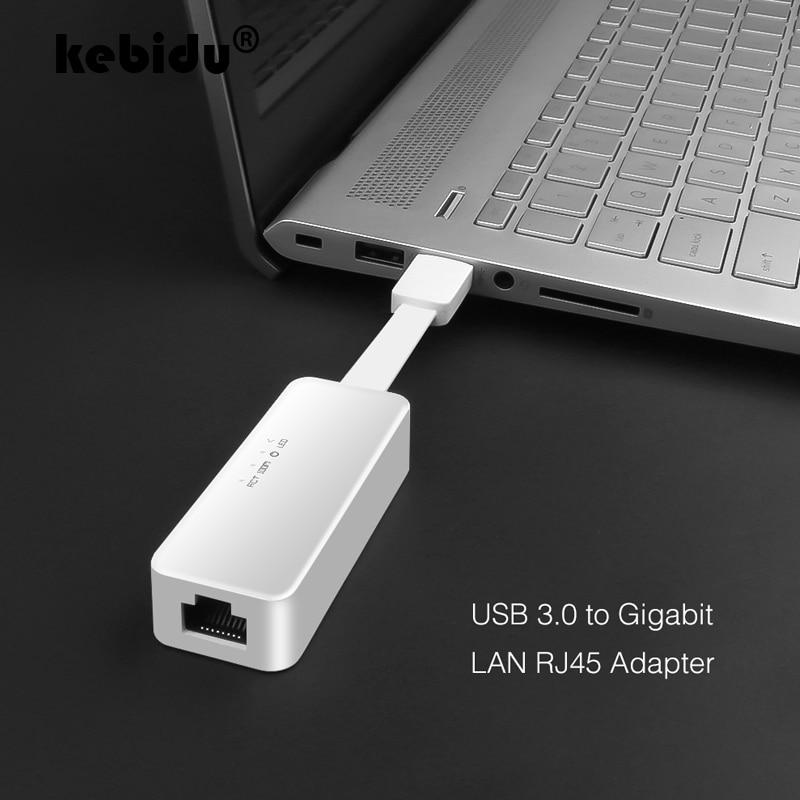 10/100/1000 Мбит/с Gigabit Ethernet адаптер USB 3,0 2,0 Сетевая карта для RJ45 Lan для ПК с ОС Windows Ethernet USB