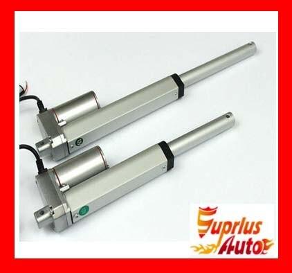 waterproof 12V 1000mm 39inch stroke 500N load 10mm/s speed heavy duty linear actuator