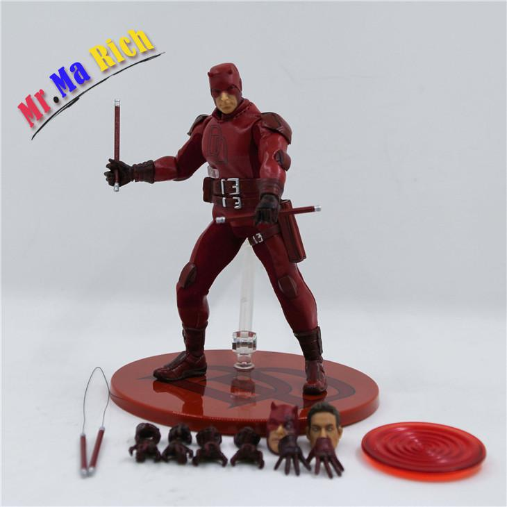 Movie Figure 16cm Daredevil 1/12 Scale Pvc Action Figure Collectible Model Toy Christmas Gift new hot christmas gift 21inch 52cm bearbrick be rbrick fashion toy pvc action figure collectible model toy decoration