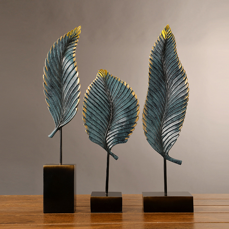 Creative Design Abstract Plant Decor Crafts Ancient Copper Leaf Home Decoration Living Room Vintage Retro Countryside DecorationCreative Design Abstract Plant Decor Crafts Ancient Copper Leaf Home Decoration Living Room Vintage Retro Countryside Decoration