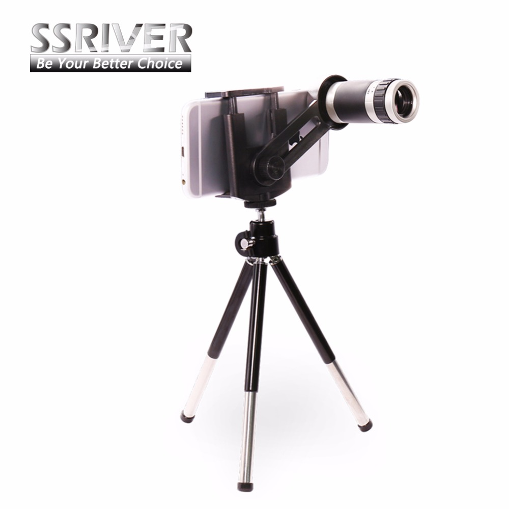 iphone camera stand universal 8x zoom telescope lens stand tripod 8863
