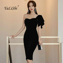 99359be96d61b Buy red velvet short dress and get free shipping on AliExpress.com