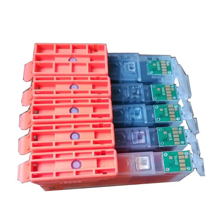 5PCS for Canon PGI470 PGI 470 CLI 471 ink cartridges For Canon MG5740 MG6840 TS5040 Printer
