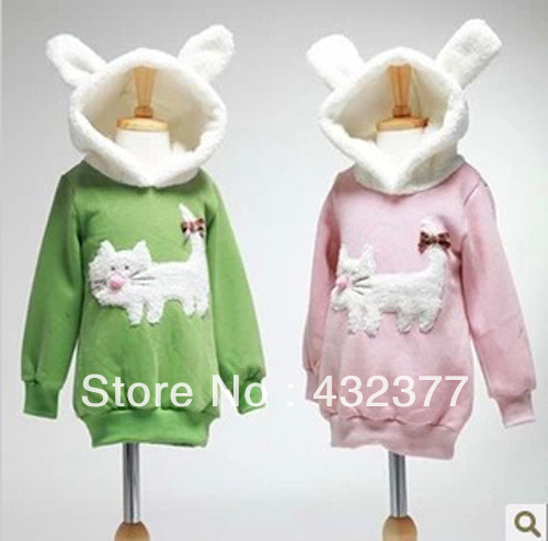 clearance-Autumn-and-winter-children-fashion-cute-rabbit-pattern-sweater-kids-outerwear-coats-girls-clothing-4