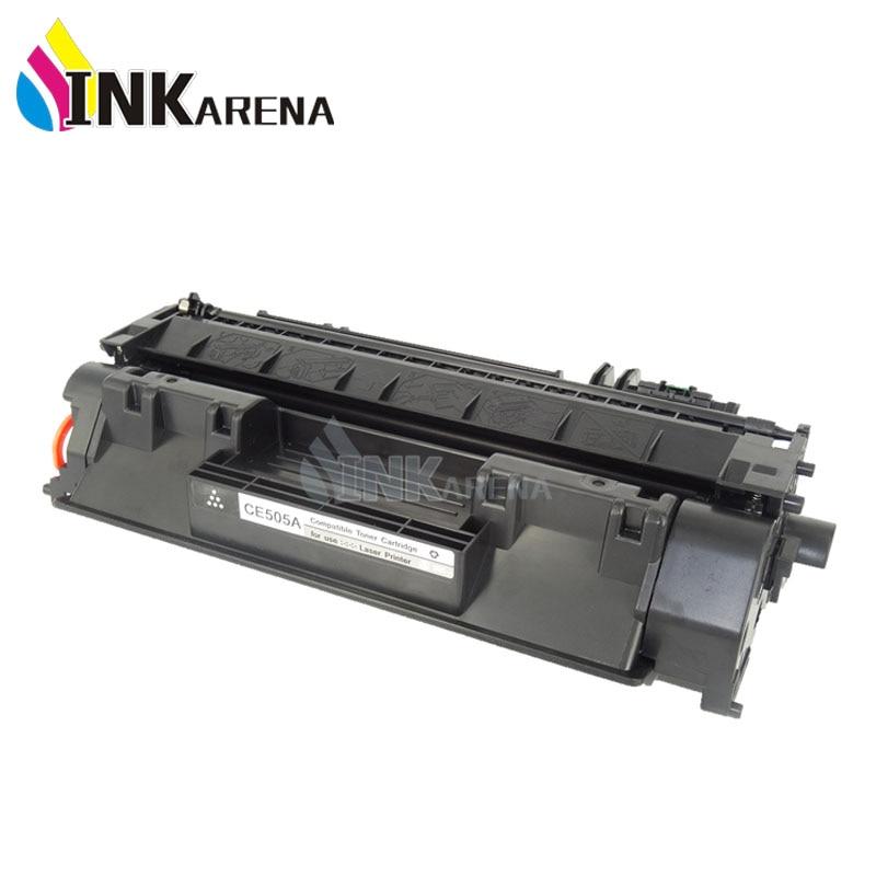 Inkarena ce505a 05a 05 505a 505 schwarz kompatible tonerkartusche für hp laserjet...