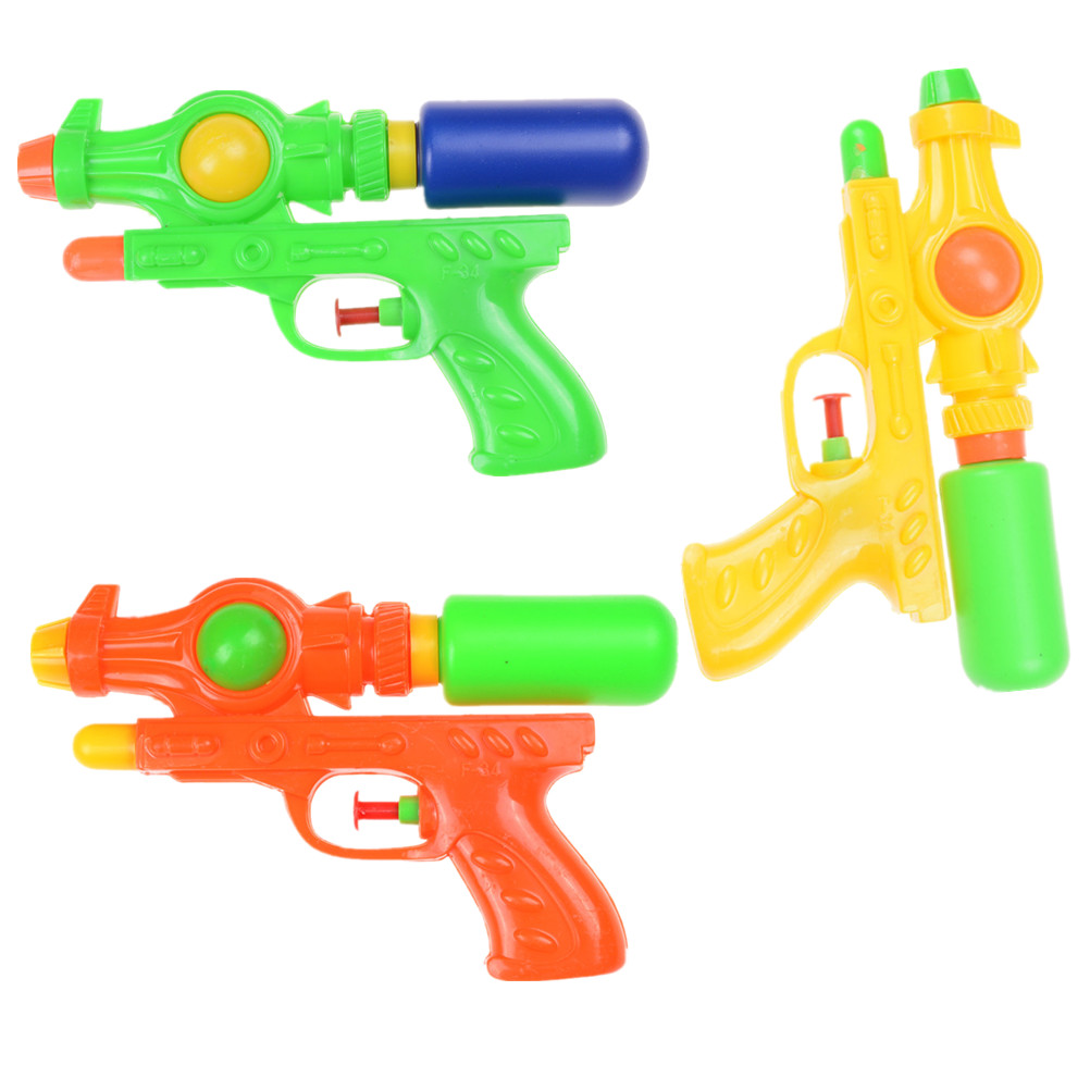 Mini Water Squirt Toy Kids Summer Children Beach Water Gun Pistol PER