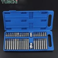 40PCS/Set Inner Hexagonal Star Batch Torx Screwdriver set Multifunctional Wrenches Set for Car Repair Tools Hand Tool Kits