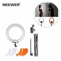 Neewer 75W 5500K 48cm Dimmable Ring Light Kit Camera Photo/Studio/Phone/Video Photography Ring Lamp Light wi/ 150cm Tripod Stand