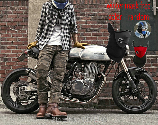 цена uglyBROS motorcycle motorpool-camo protection pants knight daily riding casual jeans six pockets camouflage protect trousers онлайн в 2017 году