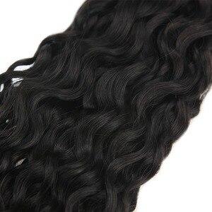Image 2 - Fita adesiva de onda natural brilhante, 50g 20 pçs, fita adesiva, feita à máquina, cabelo humano remy cola preta na