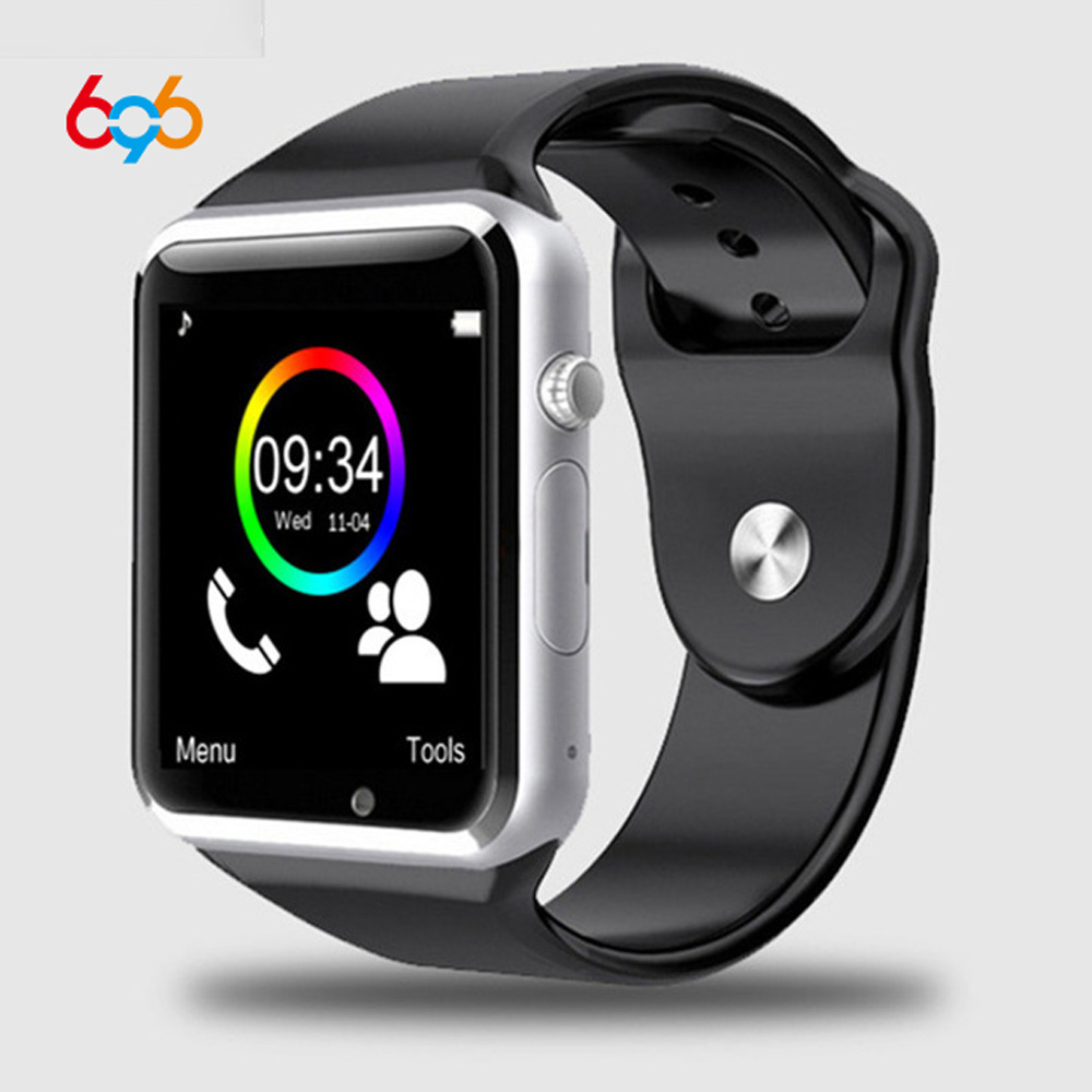 696 Factory A1 Smart Watch With Passometer Camera SIM Card Call Smartwatch For Xiaomi Huawei Android Phone Better Than GT08 DZ09