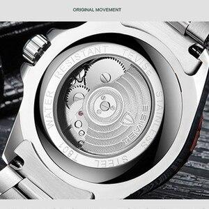 Image 5 - TEVISE גברים שעונים אוטומטי מכאני גברים של שעון יוקרה מותג עמיד למים זוהר Mens לוח שנה שעון יד Relogio Masculino