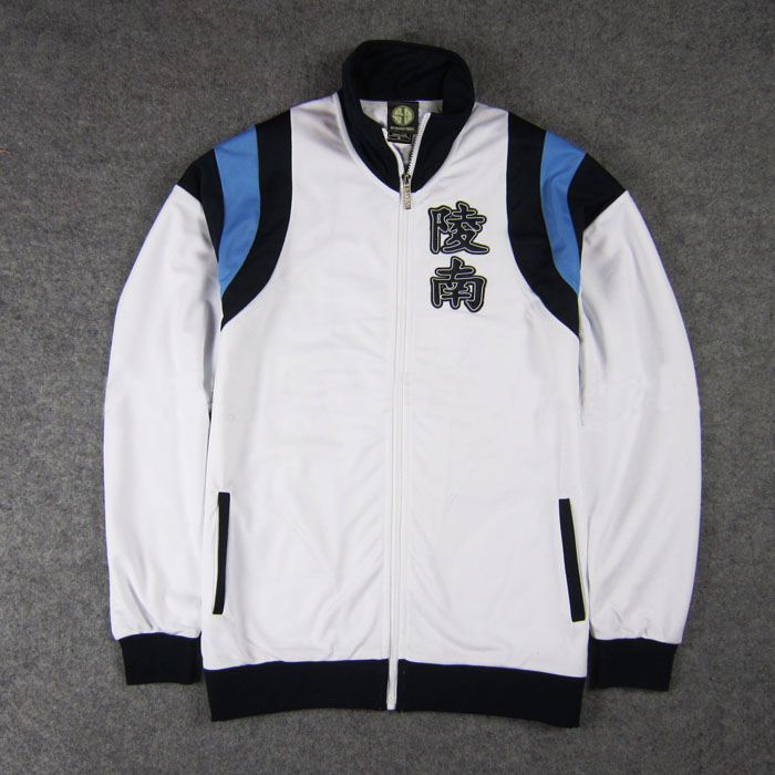 Anime Slam Dunk Cosplay Costume Ryonan School Team Uniform Embroidery Jacket Coat