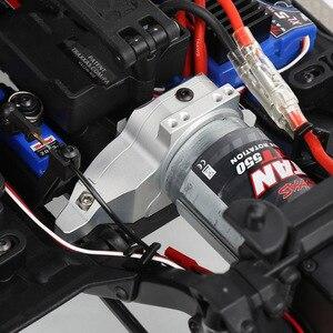 Image 2 - INJORA سبائك الألومنيوم جهاز تثبيت المحرك بالوعة الحرارة ل 1/10 RC الزاحف Traxxas TRX 4 المدافع TRX4 برونكو #8290
