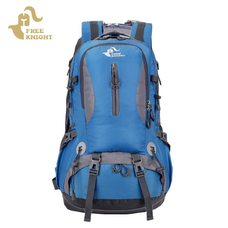 40L Outdoor Climbing Bag Backpack Camping Waterproof Mountaineering Hiking Backpacks Sport Rucksack