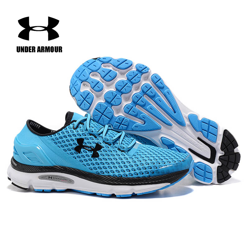 Under Armour SpeedForm Gemini Running Shoes for men Zapatos de Hombre fashion Sneakers under armour shoes Breathable trainers available from 10 11 under armour running trousers 1297933 090