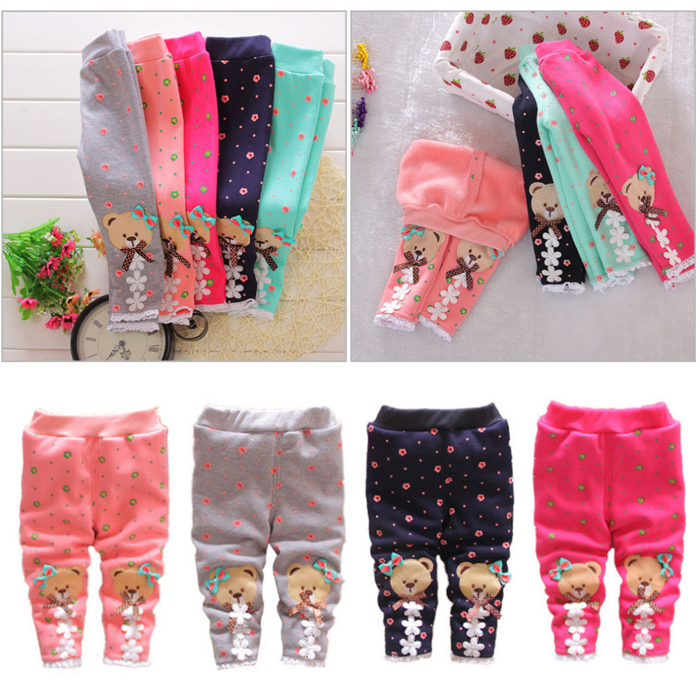 0-24M-Fashion-Winter-Fall-Cute-Baby-Warm-Pants-fleece-Bear-Patchwork-Floral-Infant-Knit-Thick-Skinny-Trousers-baby-leggings-Y2-1