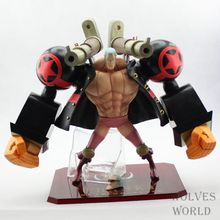 Free Shipping One Piece Action Figures Theater Edition 19CM Red Franky P.O.P Excellent Model PVC Toys One Piece Dolls For Boys