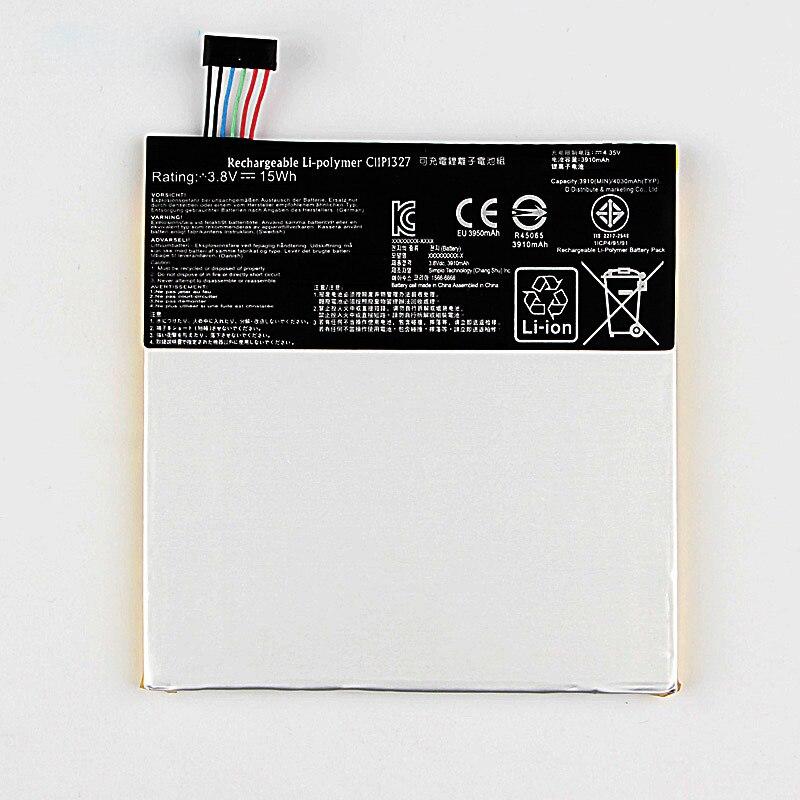 Orginal C11P1327 Battery For ASUS MeMo Pad 7 Me170C ME170 K012 K017 FE170CG 3910mAh in Mobile Phone Batteries from Cellphones Telecommunications