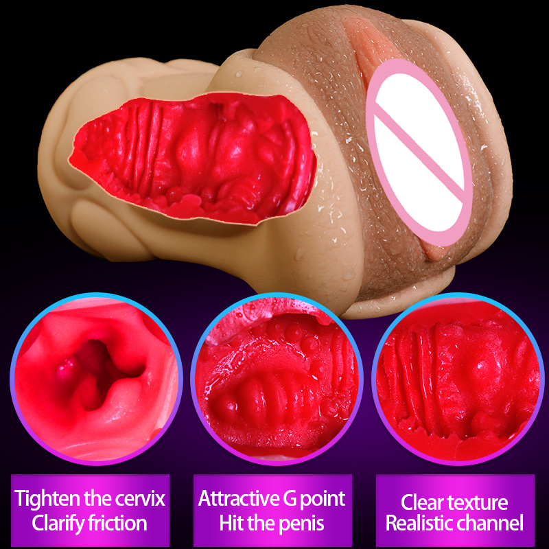 Sex Shop Silicone Real Artificial Vagina sex Pussy Masturbation Male Masturbators Man Sex Products Adult Sexy Sex Toys For Men. sex products masturbators vibrator for men male masturbation cup adult sex toys for men artificial silicone vagina real pussy