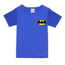 2017 Boys Short Sleeve T shirts For Children summer Batman T-shirt cotton 1 -18 year Kids Clothing Baby Girls Tops Tees Clothes