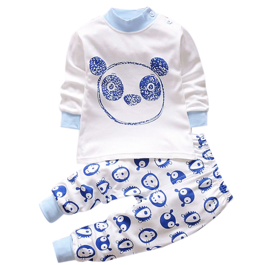 Baby nightwear Pajama suit for Children Pajamas for boys with long sleeve kids pjs sleepwear Set children's clothing 1 2 4 year baby nightwear pajama suit for children pajamas for boys with long sleeve kids pjs sleepwear set children s clothing 1 2 4 year