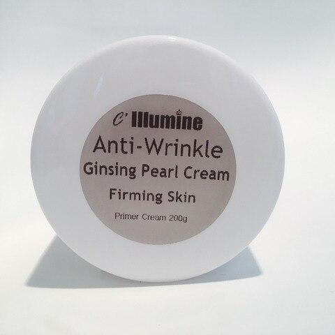 natural fundacao maquiagem primer ginseng branco perola