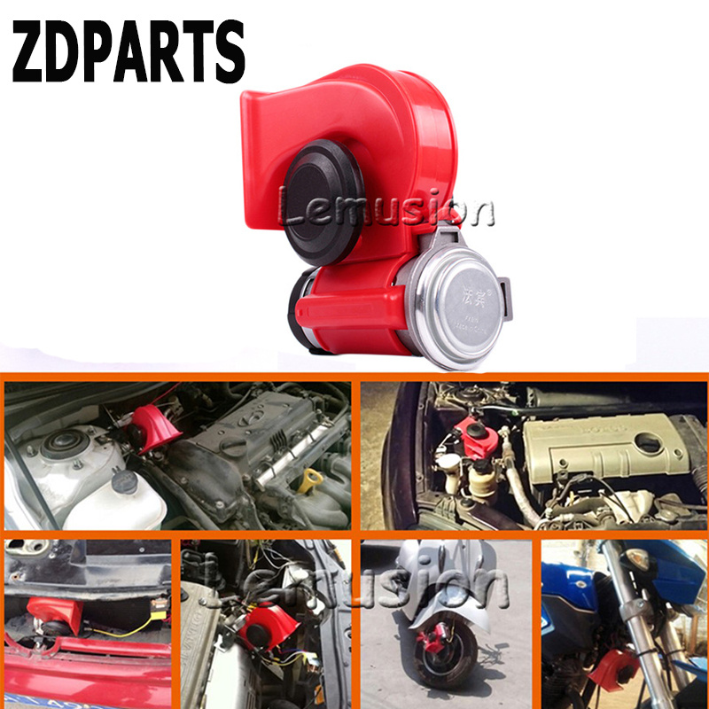 ZDPARTS For Mercedes Benz W203 W211 W210 W204 Audi A3 A4 B7 B8 B6 A6 C6 C5 Q5 Car Automobiles 12V 130db Two-Tone Snail Air Horn auto fuel filter 163 477 0201 163 477 0701 for mercedes benz