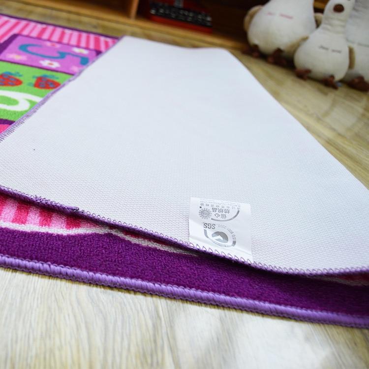 Design Unique tapis rose numéro thème enfants tapis enfants tapis enfants tapis bande dessinée tapis bébé tapis bébé ramper Pad tapis de jeu - 6