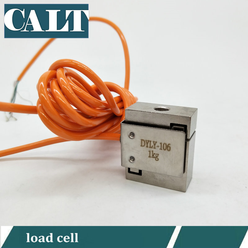 все цены на DYLY-106 1 3 5 10 20 30 50 KG Micro Size Compression and Tension Pull Force Sensor S Beam Type Load Cell онлайн