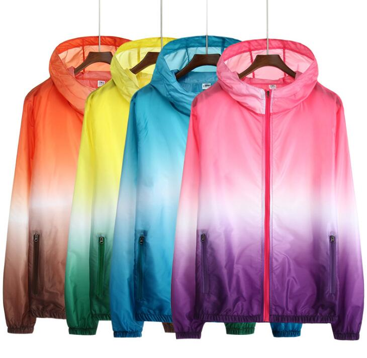 New Quick Drying Skin Windbreaker Sun Protection Clothing Waterproof Breathable Hiking  Jacket