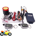 SPY 5000m 2 Way Motorcycle Anti-theft Alarm LCD Remote Control Motorbike Scooter Security System Engine Start Arming Disarming